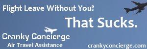 Cranky Concierge Air Travel Assistance