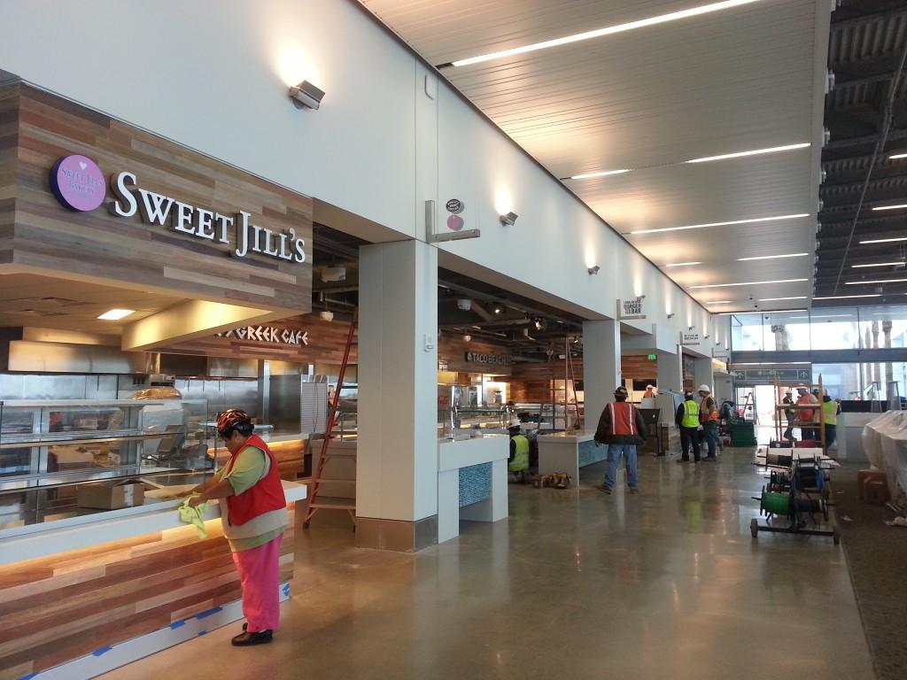 New LGB Concourse