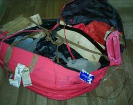 Destroyed Bag