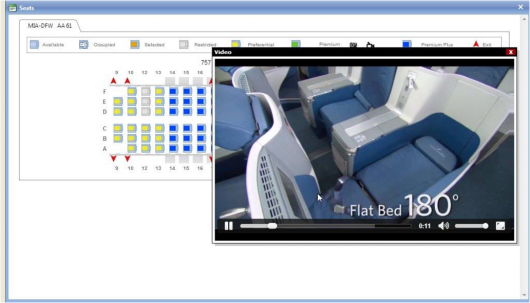 Farelogix Seat Map