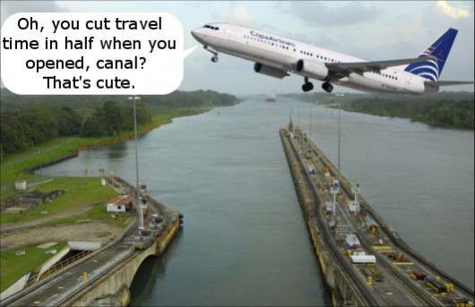 Copa Takes on Panama Canal