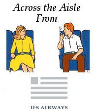 Across the Aisle US Airways