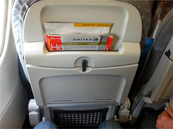 United Slimline A320 Seats