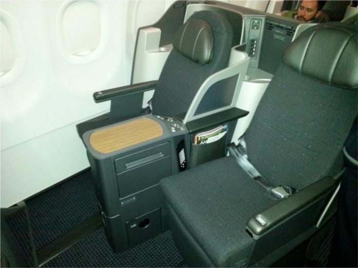 American A321 Transcon Business Class