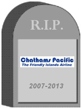 Chathams Pacific Shut Down