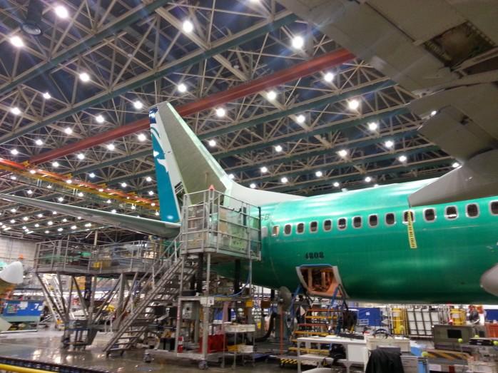 Tail of SilkAir 737 Number 2