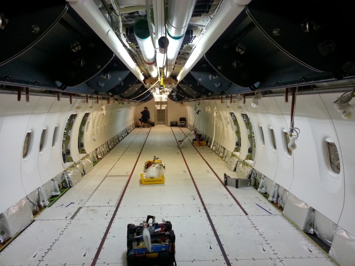 Looking Down the 737