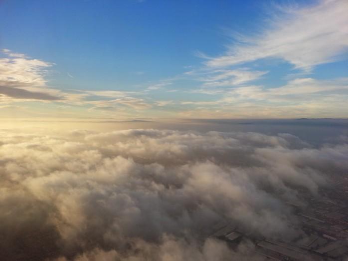 Descending into LAX