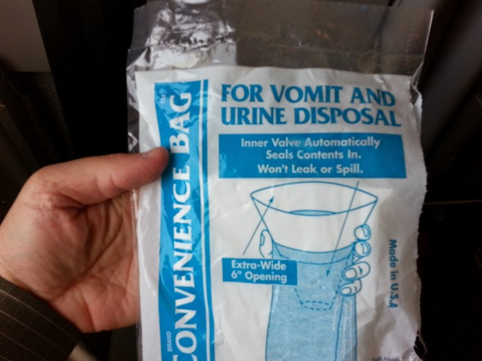 Urine and Vomit Bag
