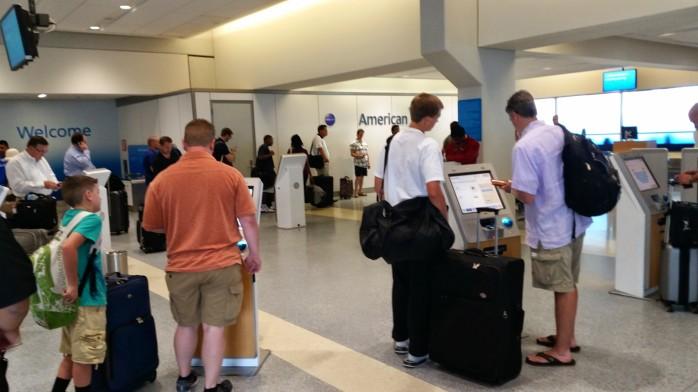 DFW Terminal A Check In