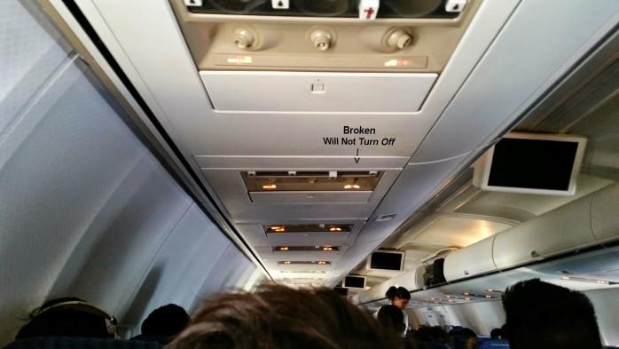 Broken Seatbelt Sign