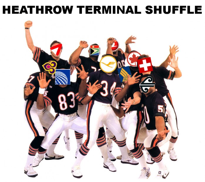 Heathrow Queen's Terminal Change