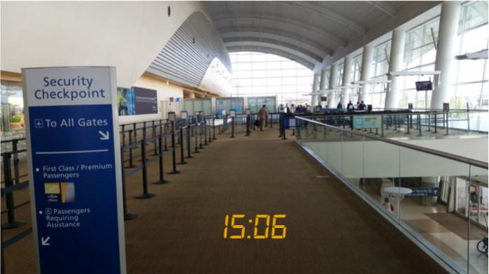 Security at San Jose Terminal B