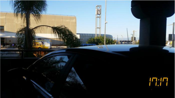 My Car at LAX