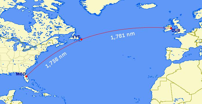 St Johns New WestJet Service to Europe