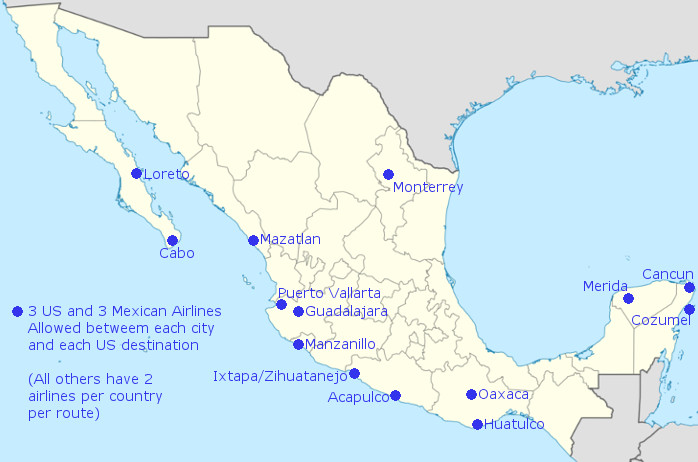 More US Mexico Flights May Be Coming Soon Thanks to Loosening of