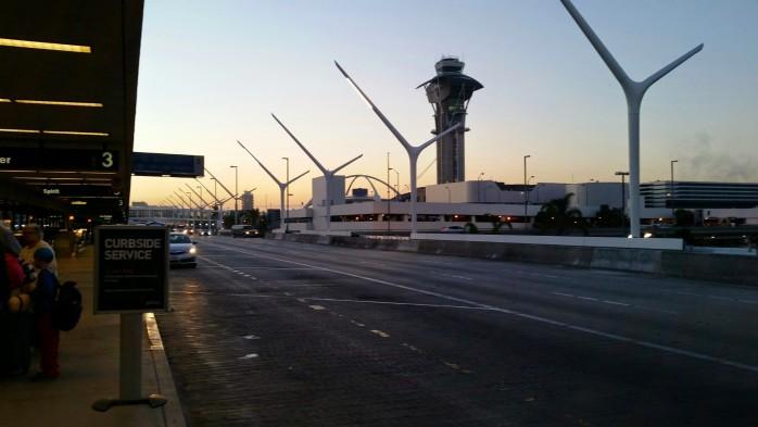LAX Light Posts