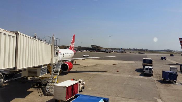 Virgin America Gate B37