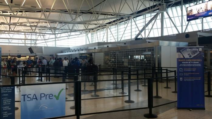 Houston Closed Pre Check Line