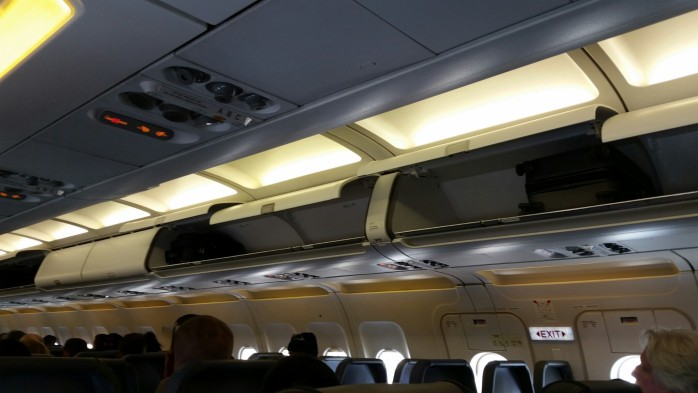 Empty Overhead Bins Frontier