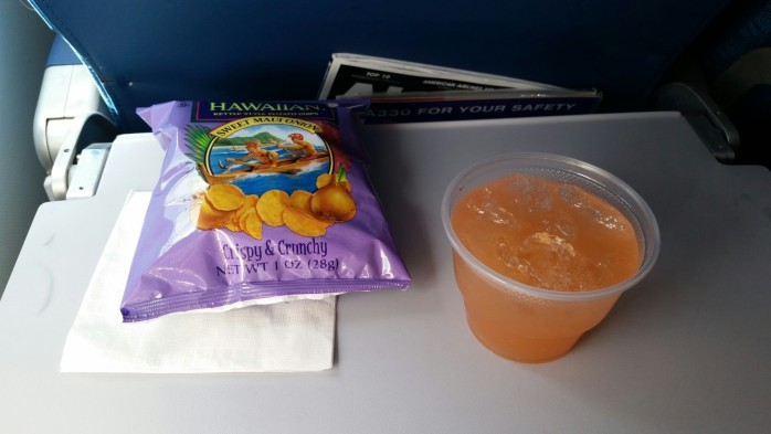Snack on Arrival in Hawai'i