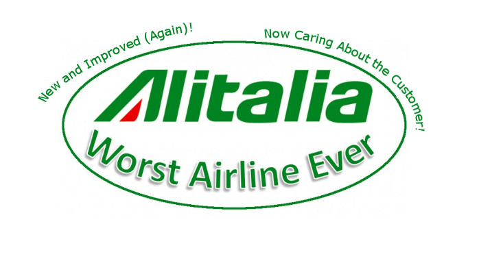 Alitalia Worst Airline Ever Again