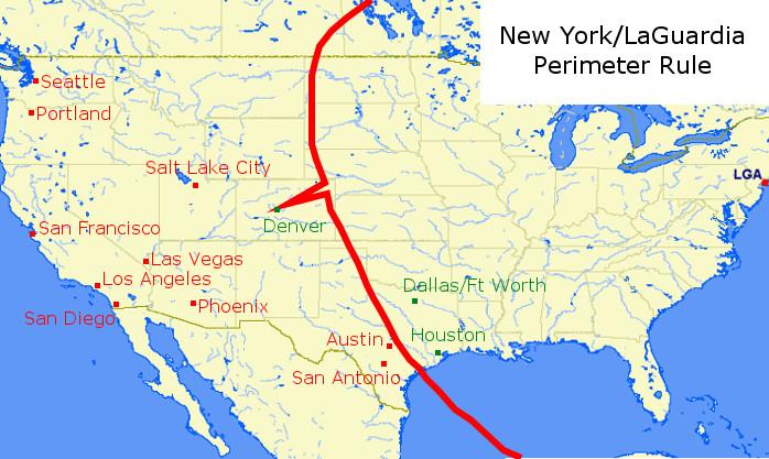 New York LaGuardia Perimeter Rule