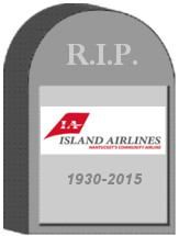 Island Airlines Tombstone