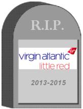 Virgin Atlantic Little Red Tombstone