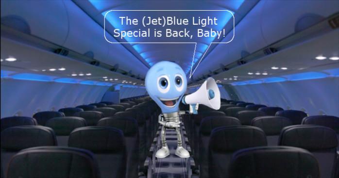 JetBlue Light Special