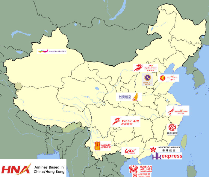 HNA Group Airlines China