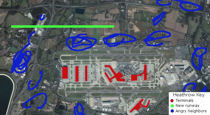 London Heathrow New Proposed Runway