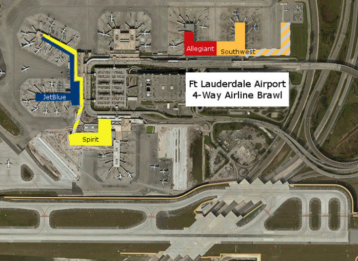 Southwest Reveals Its Ft Lauderdale Plans as a FourWay Battle Heats