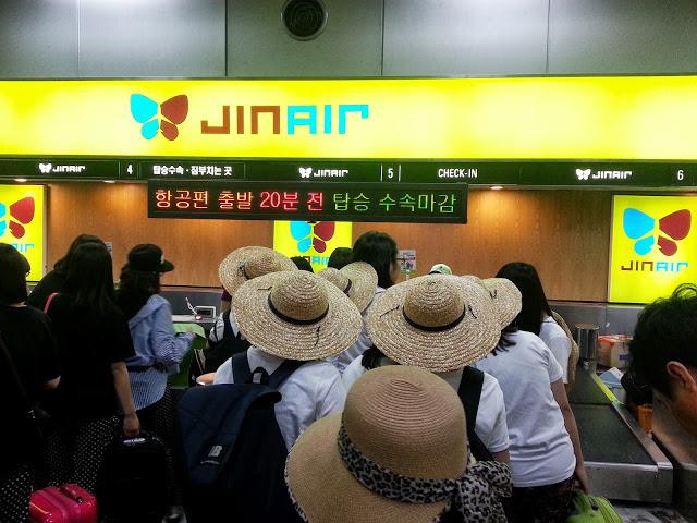 Jin Air Ticket Counter