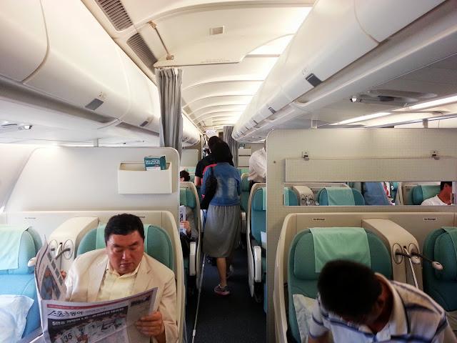 Business Class on A330 Korean