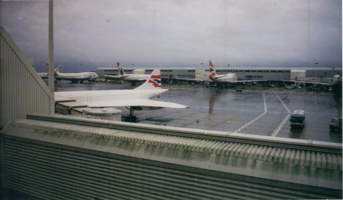 BA Concorde at Heathrow