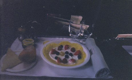 Meal on Concorde