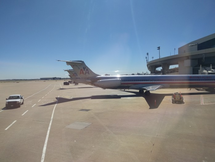 American MD-80s Terminal C