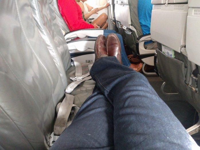 JetBlue Coach Flat Bed