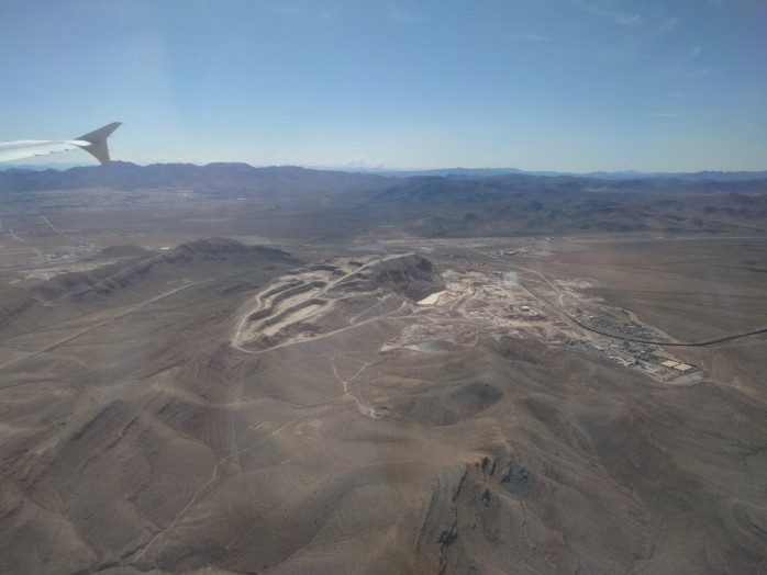 North Approach into Vegas