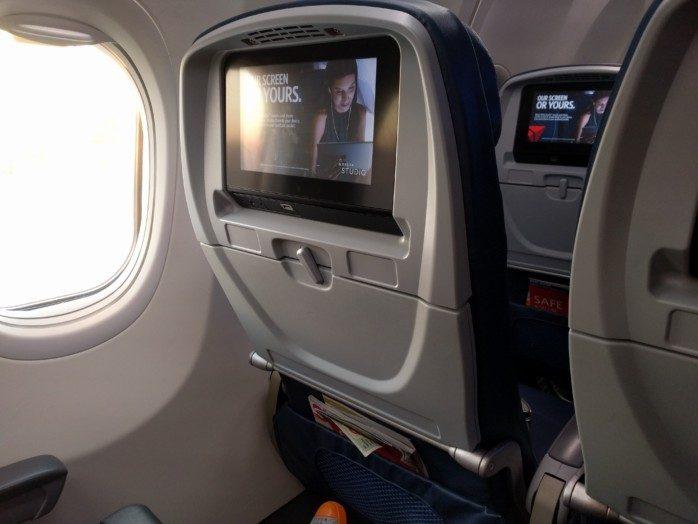 Delta Seatback 737-900ER