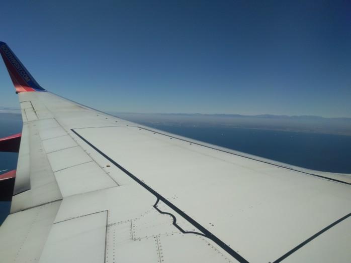 Descending into Long Beach