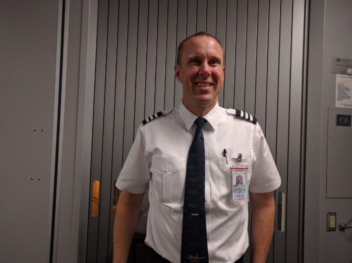 Our First Officer
