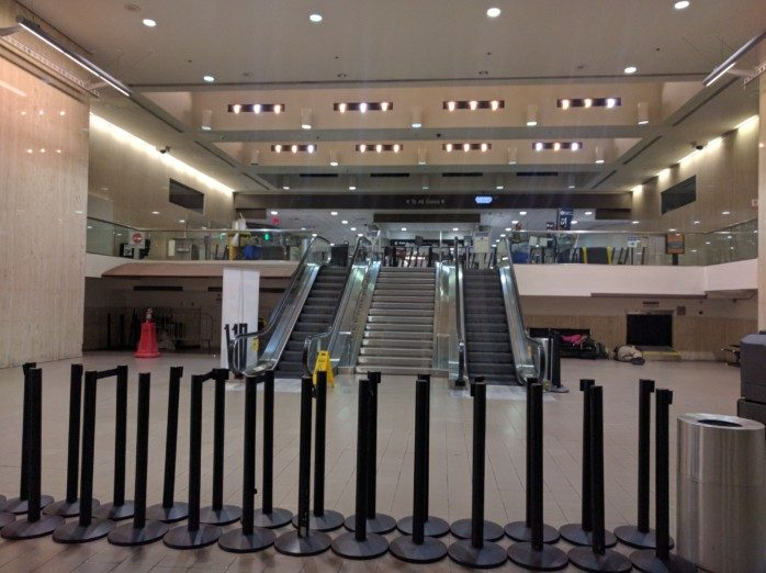 LAX Closed Up for the Night