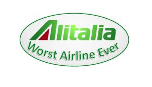 Alitalia Worst Airline Ever