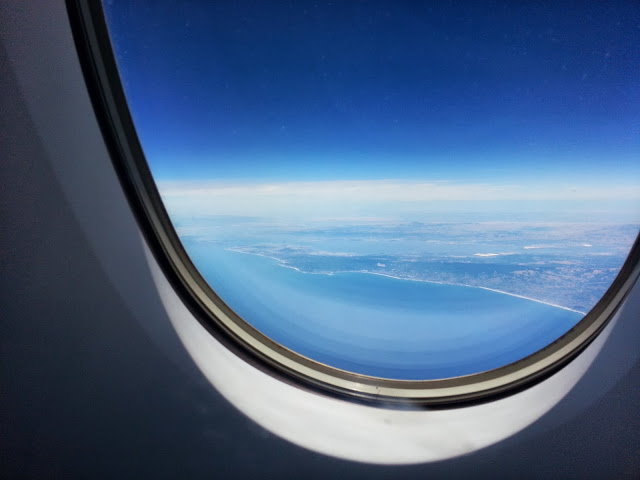 Out the Window to Korea
