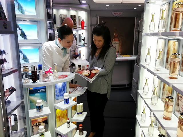 Korean A380 Duty Free Shop