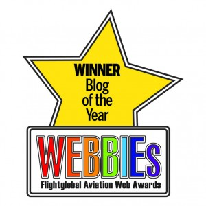 Flightglobal Webbies Blog of the Year