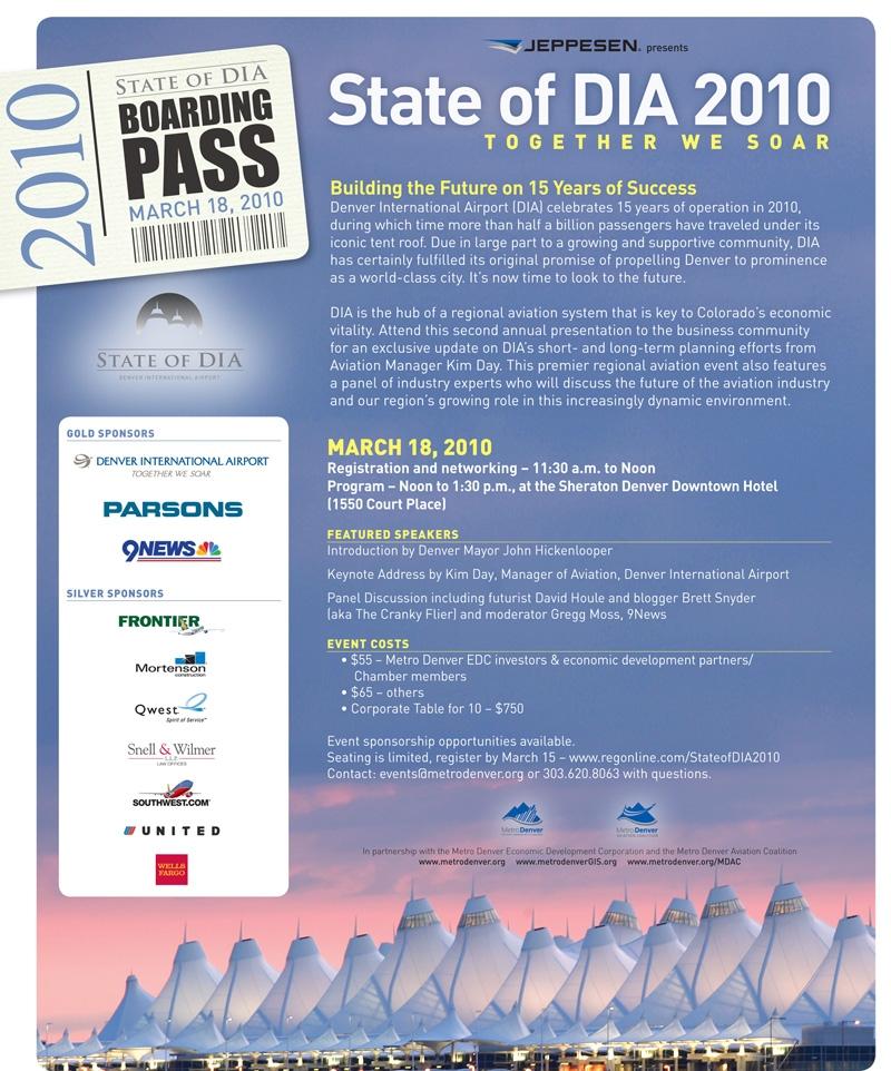 State of DIA Luncheon Invite