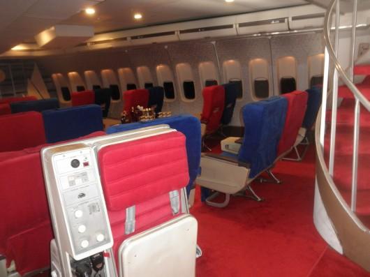 Pan Am 747 First Class